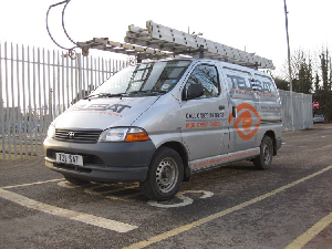Telesat security van